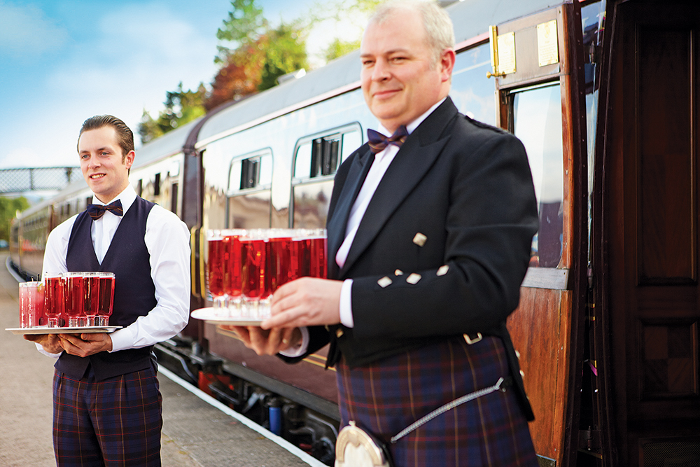 Schottland: Royal Scotsman
